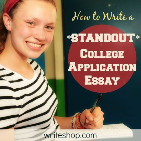 How to write a standout college essay