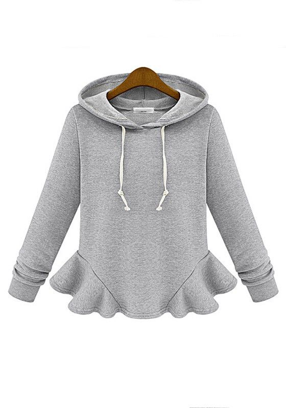 Great idea for restyling an old sweatshirt