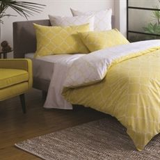 Lunah King Quilt Cover Set   Freedom Furniture and Homewares