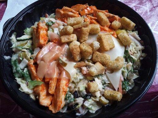 Subway's Buffalo Chicken Salad