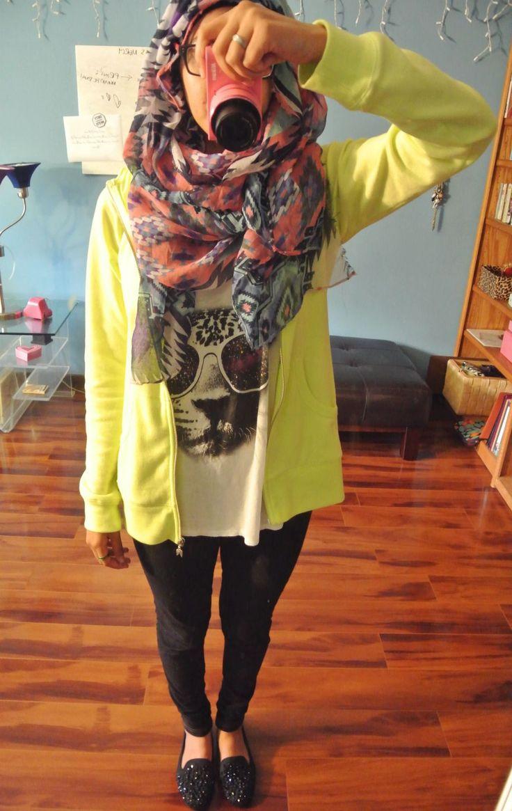 So my style. #hijab