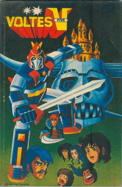 Voltes V Cartoon Characters : Best images about japanese horror sci fi on