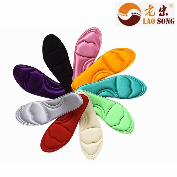 2 pairs Envío gratis 2015 más nuevo masaje de pies plantillas plantilla de espuma de memoria personalizada fasciitiscomfortable plantares plantilla de espuma de memoria