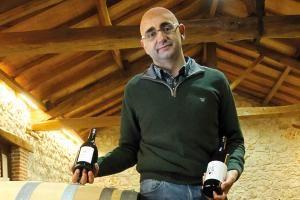 Eduardo Gascón, propietario y director de la Bodega 3Elementos.