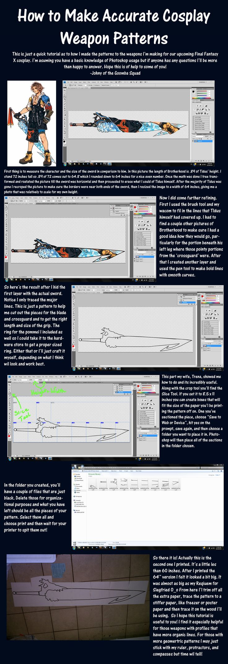 Scale Cosplay Weapon Tutorial by ~Goomba-Squad on deviantART