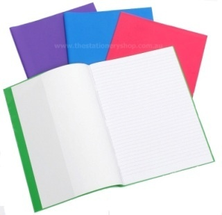 Cumberland Exercise Book Covers A4 Funky Colours-Pack of 5