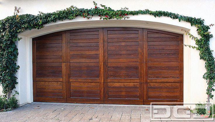 Spanish Mediterranean Garage Door Design