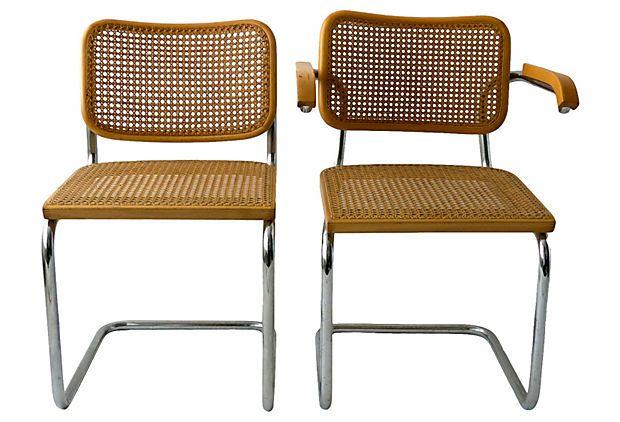 Marcel Breuer Chairs, S/2 on OneKingsLane.com $399 OKL, $800 estimated market value
