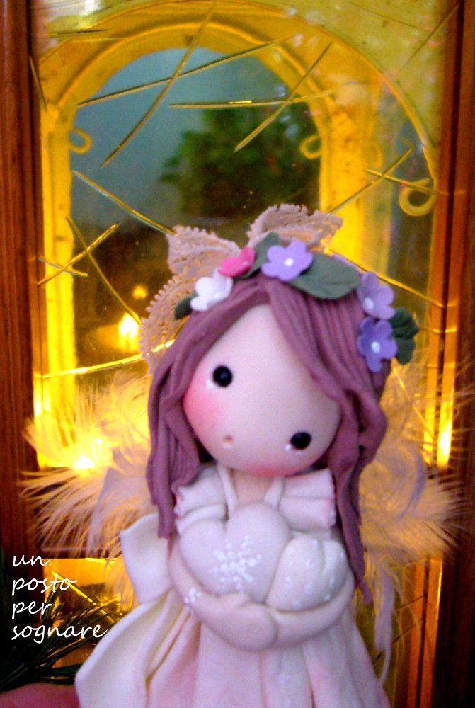 angelo porcellana fredda,doll porcelana fria,christmas,natale.