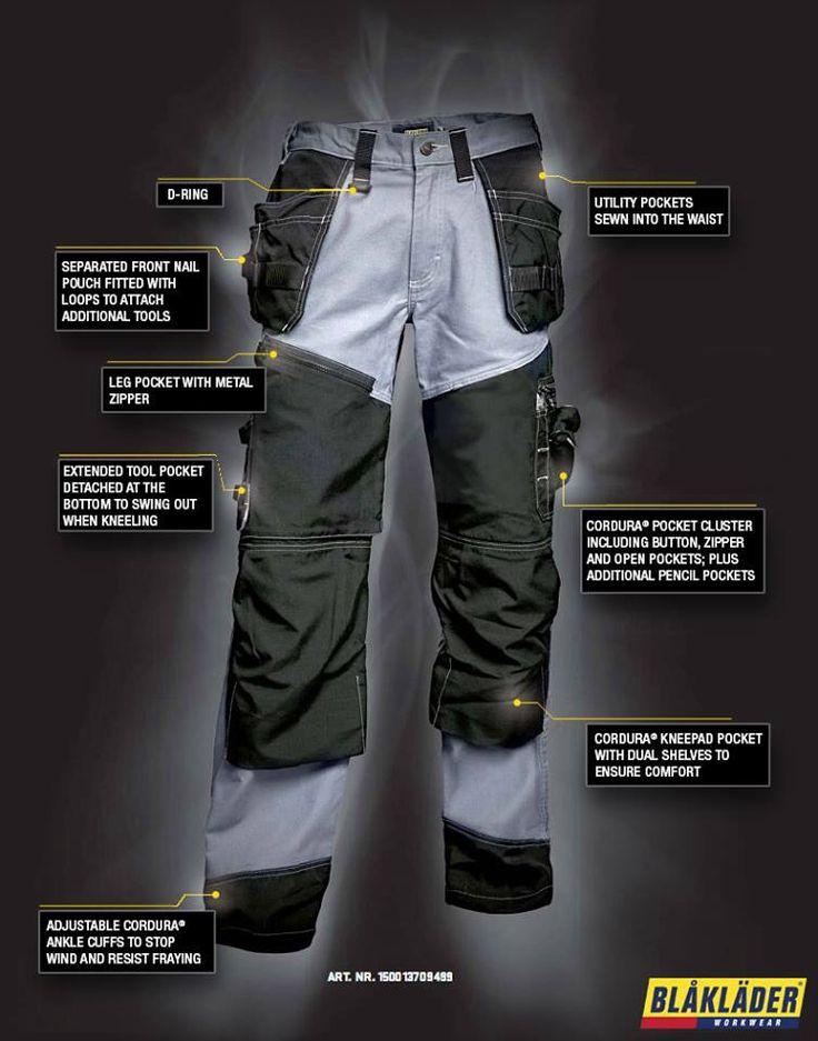X1500 van Blåkläder Workwear  4 jaar geleden geïntroduceerd en nog steeds. Een Topmodel Werkbroek!!!