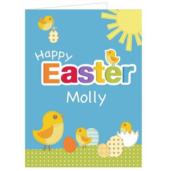 29 best easter gift ideas not just chocolate images on pinterest personalised easter chick card the hut market personalised gift shop negle Gallery