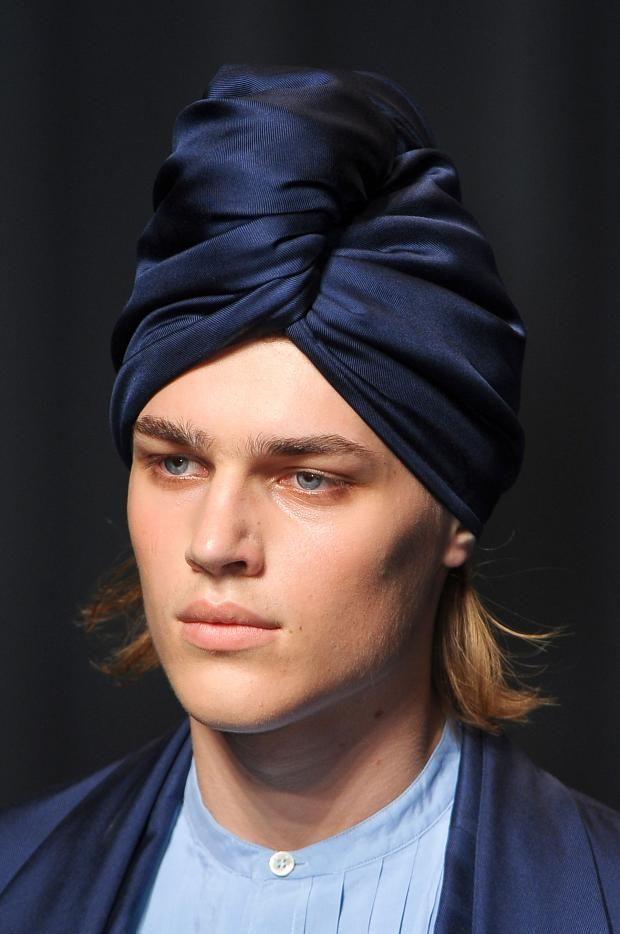 Man turban! Etro S/S 2013 | Head wraps