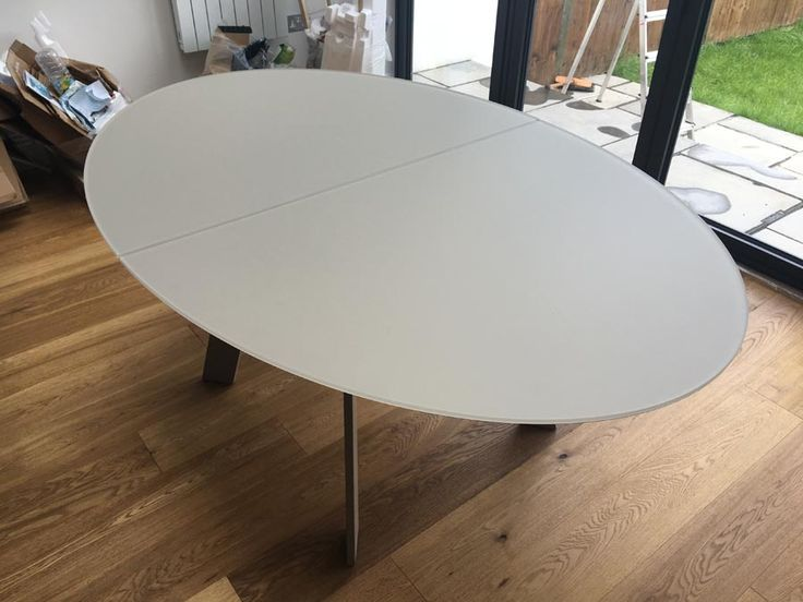 Best Moon Dining Table Images On Pinterest Dining Tables - Glass oval dining table