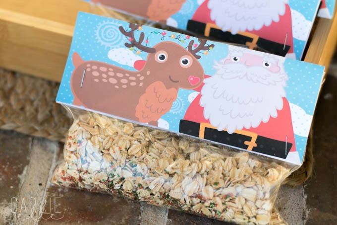 Learn how to make reindeer food (it's so easy!) - and use this free printable reindeer food poem to go with it!