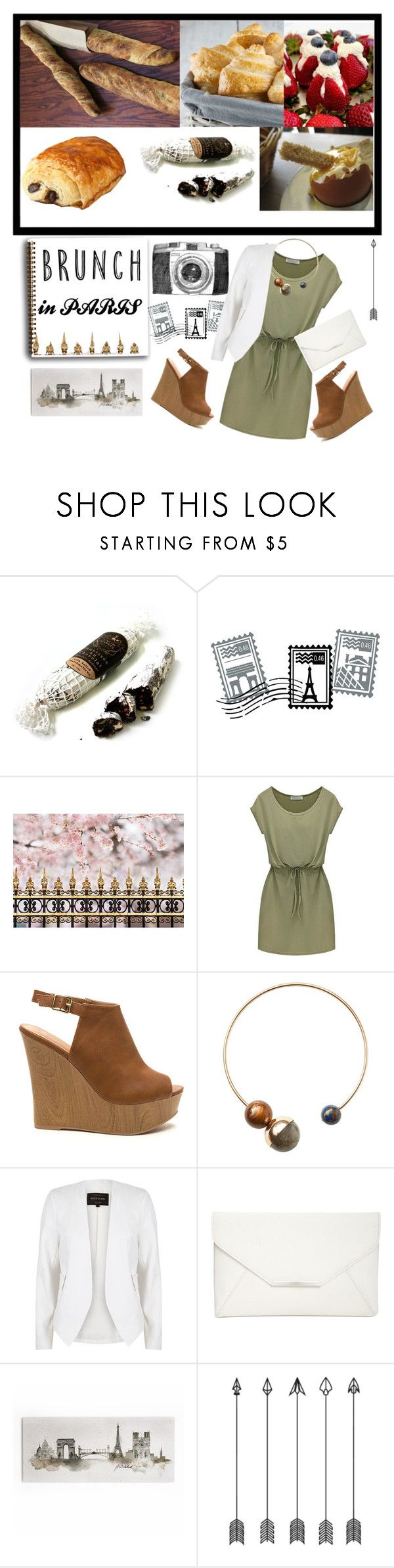 """""""Brunch in Paris"""" by larifarii ❤ liked on Polyvore featuring MarieBelle, Dot & Bo, MANGO, River Island, Style & Co. and MothersDayBrunch"""