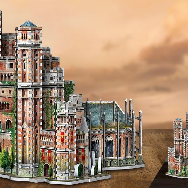 Wrebbit 3D Game of Thrones/' The Red Keep 3D Puzzle
