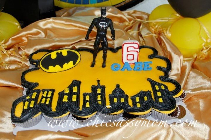 easy diy batman birthday cakes   Batman+Cupcake+Cake+Birthday+Them+Cake+Lailens+Angeles+City+Pampanga ...