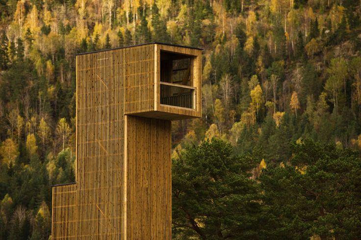Rintala Eggertsson Architects · Seljord Lookout Points · Divisare