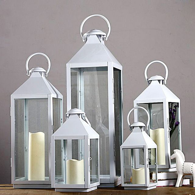 Where To Buy Wedding And Event Lanterns In Bulk At Cheap Wholesale Prices These Shiny Stainless St Glass Candle Lantern Silver Candle Lanterns Candle Lanterns