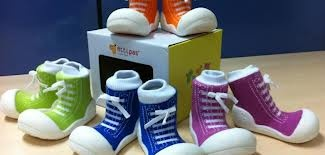Attipas functional toddler shoes are available in many colours to suit boys or girls