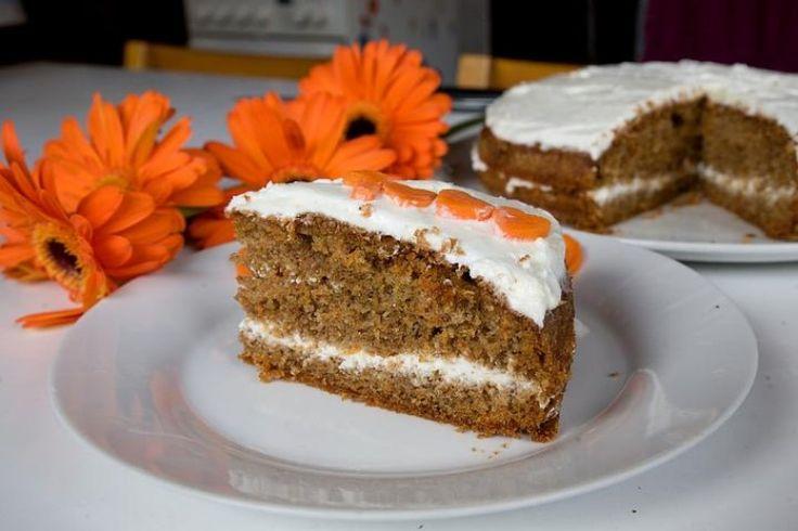 Mrkvový dortík - Testováno na dětech