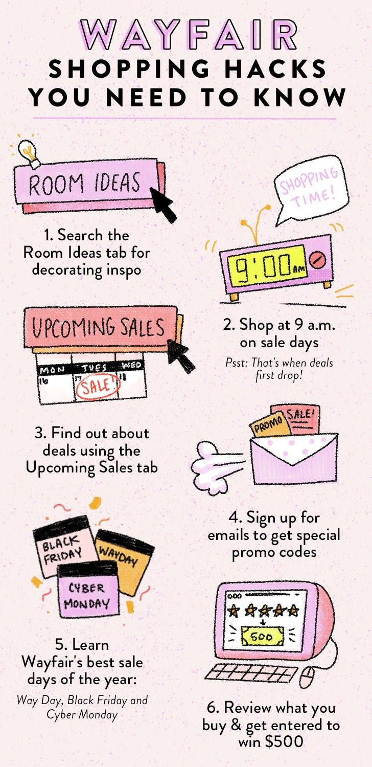 6 Wayfair Shopping Hacks You Need To Know About In 2020 Shopping Hacks Wayfair Hacks