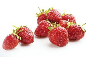 Mousse aux fraises en couches