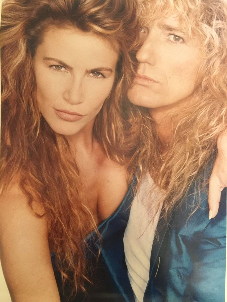 Tawny Kitaen and David Coverdale, 80s