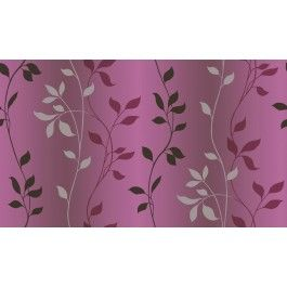 CHR34089 Sullivan Purple Ombre Vine Trail Wallpaper Wallpaper