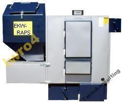 Automatycznie sterowany stalowy wodny kocioł grzewczy typu EKW-RAPS charakteryzuje się wysoką efektywnością energetyczną i czystością spalania węgla 40mm,umożliwia również spalanie pellet oraz owsa. Potwierdzona certyfikatem wysoka sprawność do 88%, -komora paleniskowa wykonana z atestowanych blach stalowych o grubości 8mm, -wymienne palenisko główne.   ZADZWOŃ: 796 640 017  #kotłygrzewcze #pellety #stalowy #efektywność