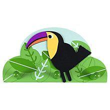 Buy little home at John Lewis Animal Fun Wall Hangers Online at johnlewis.com