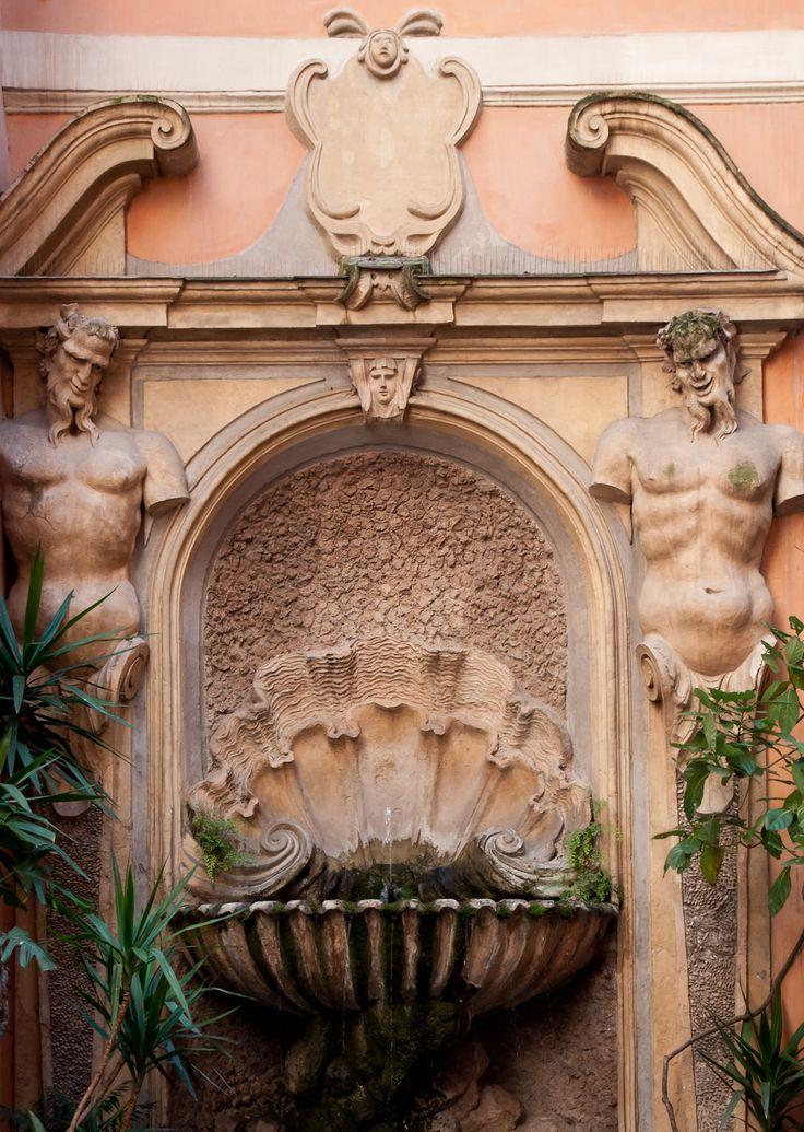 Dettaglio fontana