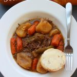 Crock Pot Beef Pot Roast *Get more RECIPES from Raining Hot Coupons here* *Pin it* by clicking the PIN button on the image above! REPIN it here! This next crock pot recipe is one of my favorites! I love a hearty meal during the Winter but this is really yummy all year around. What I …