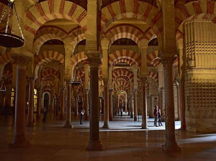 Storslagna kulturarvet La Mezquita i Andalusien.