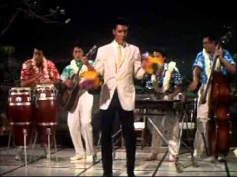 "۞ ۩ ♫  Elvis Presley -"" Rock a hula baby ""(blue hawaii)::::http://youtu.be/IVq37rPu4jU"