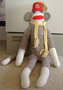 Sock monkey - Wikipedia, the free encyclopedia