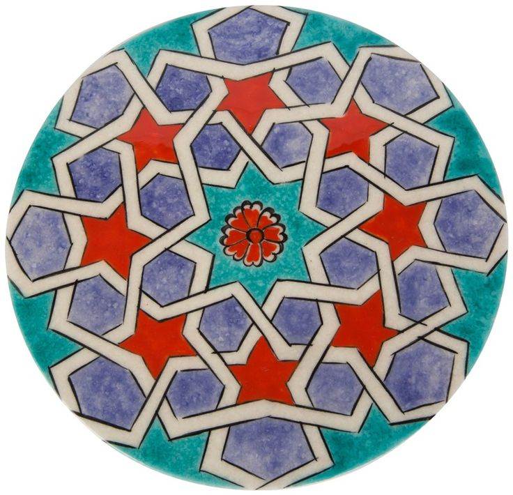 Ceramic Hot Pad - Star Transition