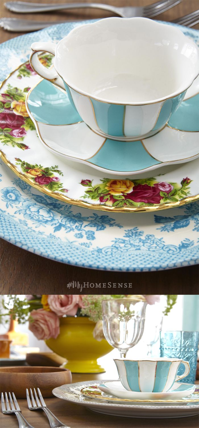 Pinkies up! #MyHomeSense has everything you need to plan Spring tea time, perfect for Mother's Day or to fancy up your weekend brunch. Delicate and darling tea cups, plates and tea pots can be found in a HomeSense near you! Visit our website for directions to your nearest store. Cheers!