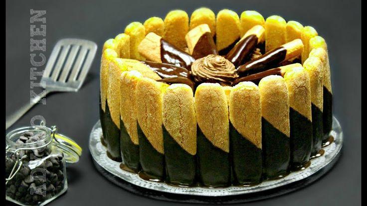 Tort fara coacere cu ciocolata | Tort de ciocolata Adygio Kitchen - YouTube