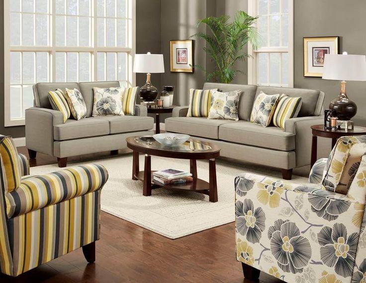 Zara Contemporary Stationary Sofa With Track Arms