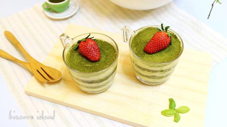 #Matcha Green tea #Tiramisu | Matcha Mascarpone Trifle #Tutorial