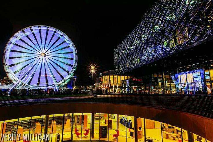 Christmas in Birmingham | New Library | The Big Wheel  | Centenary Square | Christmas  | Local attractions