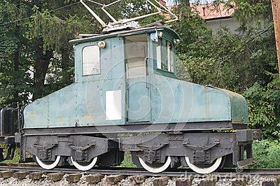 Old electrical goods train  & x28;manufactured in 1913& x29;