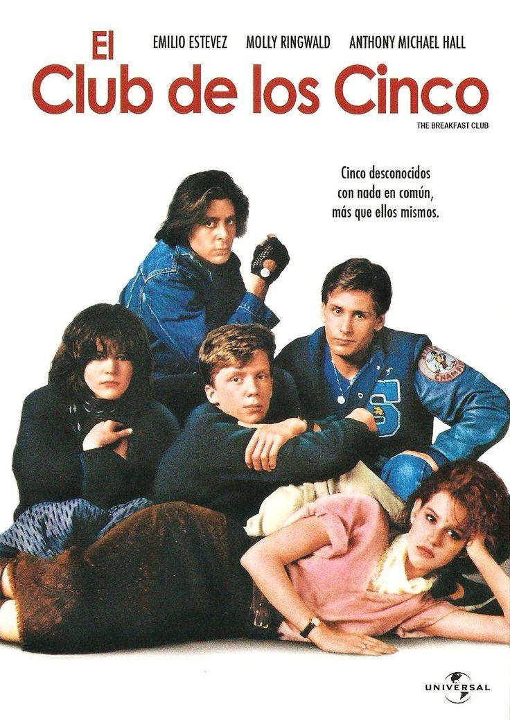 """""""El club de los cinco / The Breakfast Club"""" (US 1985). Direcció John Hughes. Tema: Les relacions entre adolescents."""