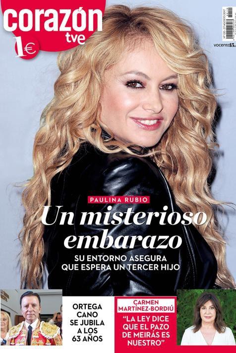 [ Paulina Rubio - Corazón TVE ]