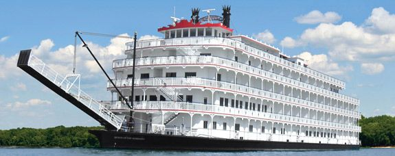 American Cruise Lines: Queen of the Mississippi Riverboat. Memphis is a stop on at least 2 of the itineraries.