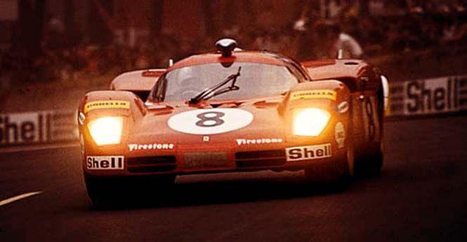 Arturo Merzario / Clay Regazzoni, #8 Ferrari 512S (SpA Ferrari SEFAC), 24 Hours Le Mans 1970 (DNF)
