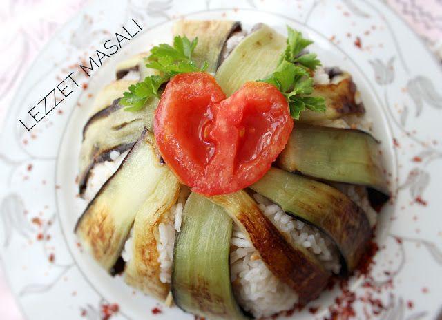 ○●○LEZZET MASALI○●○: 🍆 Patlıcanlı Pilav / Eggplant Rice 🍆