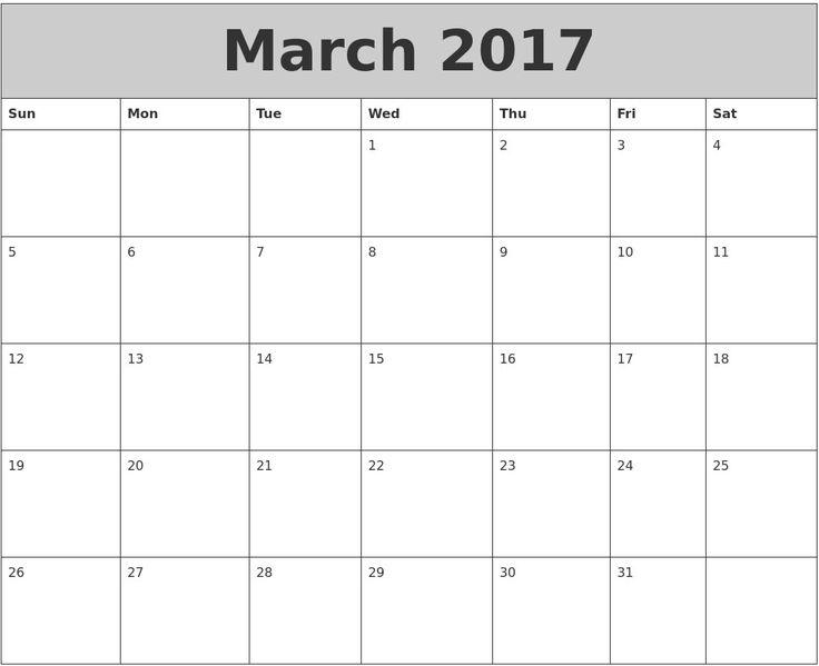322 best calendar images on Pinterest Calendar 2017, Calendar - birthday calendar template