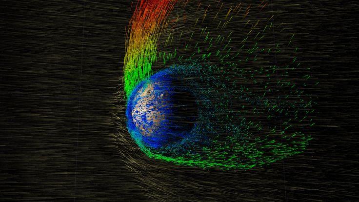 NASA | Solar Wind Strips Martian Atmosphere